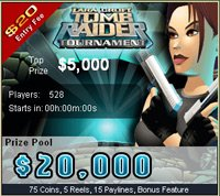 Tombraider Slot Tournament